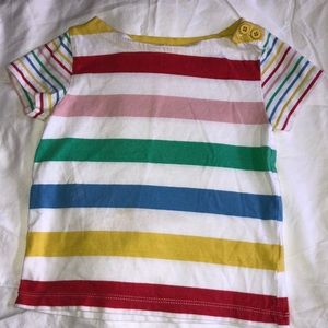 Mini Boden Summer Stripy T-Shirt, Sz 3-4Y